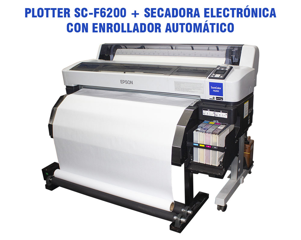 Printac Plotter Epson Sc F6200